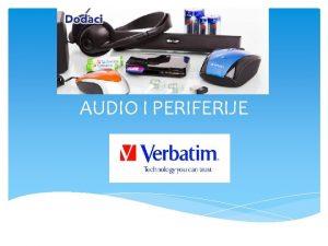AUDIO I PERIFERIJE ZVUNICI Portable USB Audio Bar
