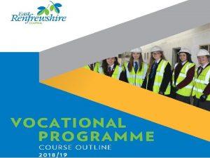 Course Guide 201819 Programme Details 2 5 days