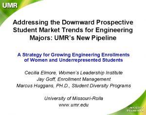 Addressing the Downward Prospective Student Market Trends for