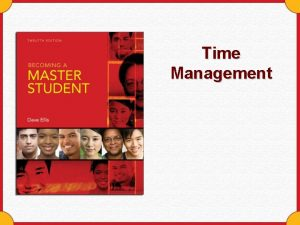 Time Management Youve Got the Time You have