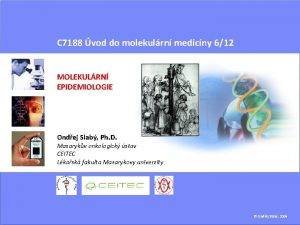 C 7188 vod do molekulrn medicny 612 MOLEKULRN