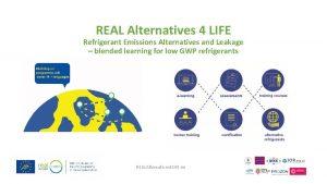 REAL Alternatives 4 LIFE Refrigerant Emissions Alternatives and