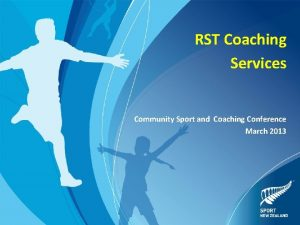 RST Coaching Services Community Sport and Coaching Conference