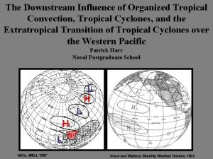 The Downstream Influence of Organized Tropical Convection Tropical