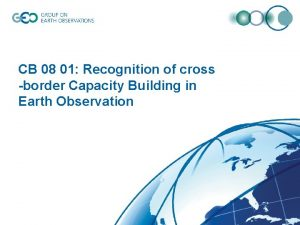 CB 08 01 Recognition of cross border Capacity