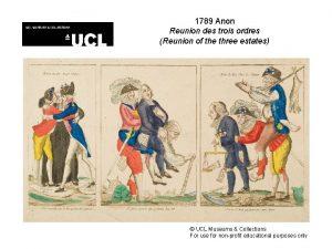 1789 Anon Reunion des trois ordres Reunion of