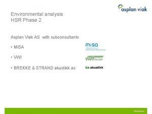 Environmental analysis HSR Phase 2 Asplan Viak AS