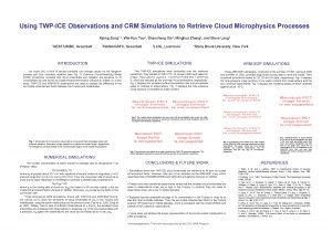 Using TWPICE Observations and CRM Simulations to Retrieve