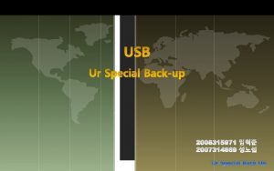 1 Introduction Topology of USB Bus Usb Host