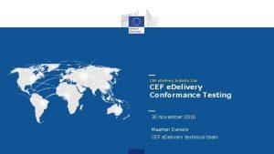 CEF e Delivery Industry Day CEF e Delivery