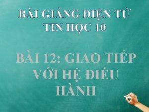 BI GING IN T TIN HC 10 BI