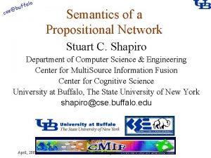 alo f buf cse Semantics of a Propositional