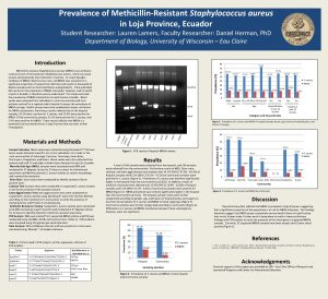 Prevalence of MethicillinResistant Staphylococcus aureus in Loja Province