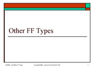 Other FF Types 91509 L 24 Other FF