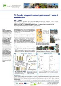 Oil Sands integrate natural processes in hazard assessment