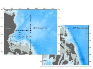 LB 01 Lamon bay LB 01 Bifurcation track