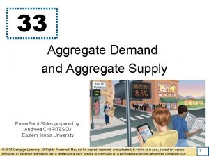 33 Aggregate Demand Aggregate Supply Power Point Slides