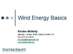 Cross Border Training Module Wind Energy Basics Kirsten