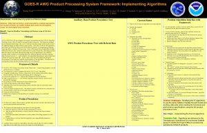 GOESR AWG Product Processing System Framework Implementing Algorithms