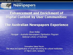 Enhancement and Enrichment of Digital Content by User