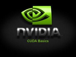 CUDA Basics CUDA A Parallel Computing Architecture for