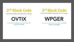 nd 2 Block Code rd 3 Block Code