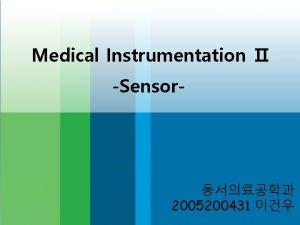 Medical Instrumentation Sensor 2005200431 Axial Stress X Y