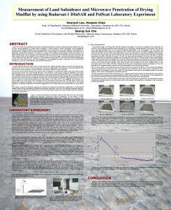 Measurement of Land Subsidence and Microwave Penetration of