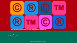Hak Cipta SENTRA KI UNIVERSITAS MUHAMMADIYAH MALANG Hak