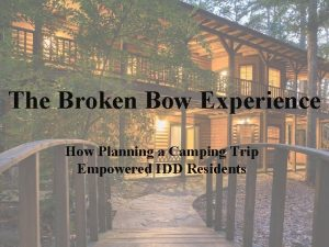 The Broken Bow Experience How Planning a Camping