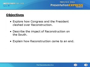 Chapter Section 4 25 Section 1 Objectives Explore
