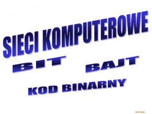 01 10 2004 zagadnienia SIECI KOMPUTEROWE TOPOLOGIA SIECI