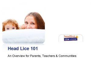 Head 101 Main Lice Title Description An Overview
