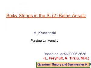 Spiky Strings in the SL2 Bethe Ansatz M
