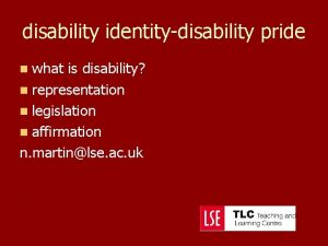 disability identitydisability pride n what is disability n