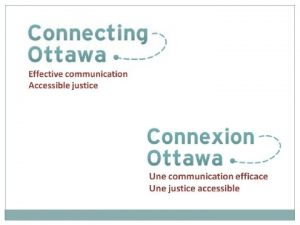 THE CONNECTING OTTAWA CONNEXION OTTAWA PROJECT We believe