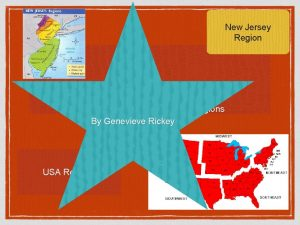 New Jersey Region United States and New Jersey