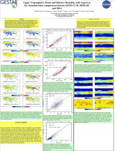 Upper Tropospheric Ozone and Relative Humidity with respect
