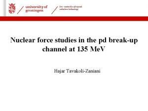 kvi center for advanced radiation technology 22 06