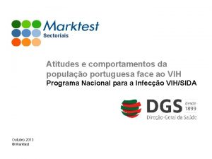 Sectoriais Atitudes e comportamentos da populao portuguesa face