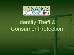 Identity Theft Consumer Protection Fraud Quiz n Identity