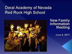 Doral Academy of Nevada Red Rock High School
