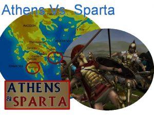 Athens Vs Sparta Democratic Athens 600s United States