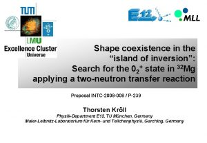 Shape coexistence in the island of inversion Search