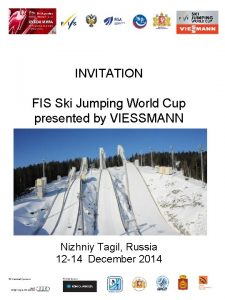 INVITATION FIS Ski Jumping World Cup presented by