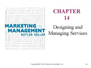 CHAPTER 14 Designing and Managing Services Copyright 2016
