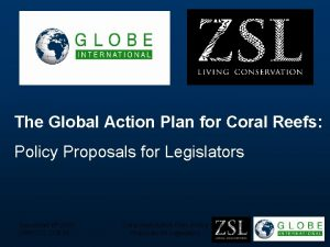 The Global Action Plan for Coral Reefs Policy