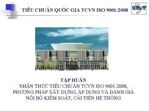 TIU CHUN QUC GIA TCVN ISO 9001 2008