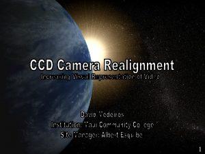 CCD Camera Realignment 1 Northrop Grumman v Northrop