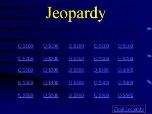 Jeopardy Freudian Psychoanalysis D Fence Behaviorist Mixed Bag